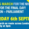 People's March for the NHS – 6th September