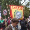 North London on the TUC march – words and pictures